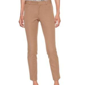 Banana Republic Tan Skinny Sloan Fit Pants